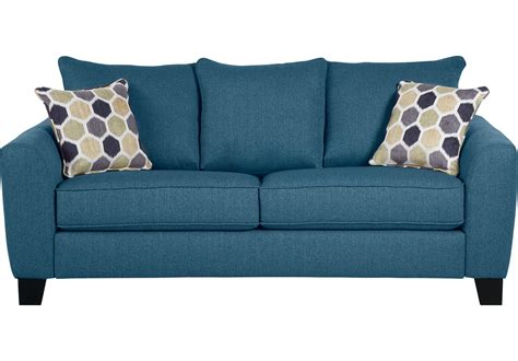 Rooms To Go Loveseat by Sofa Bonita Springs Color Azul Rooms To Go