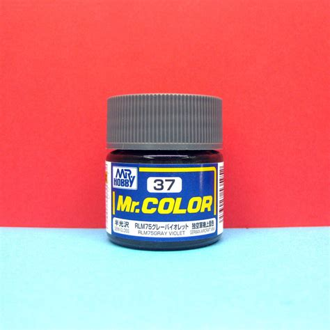 mr color paint mr hobby c37 mr color paint semi gloss rlm75 gray