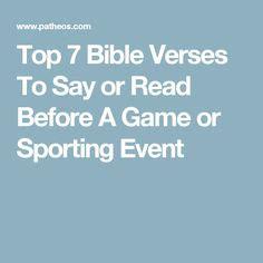 bible verses  athletes  motivational scriptures