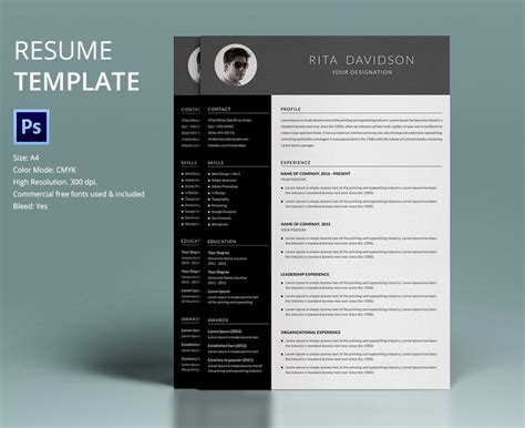 creative resume templates word shatterlioninfo