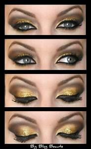 Maquillage Soirée Yeux Marrons : maquillage yeux verts soiree ~ Melissatoandfro.com Idées de Décoration