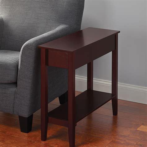 The Hidden Storage Side Table  Hammacher Schlemmer