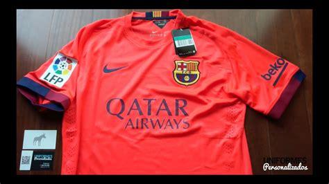 barcelona   playera authentic visitante la liga