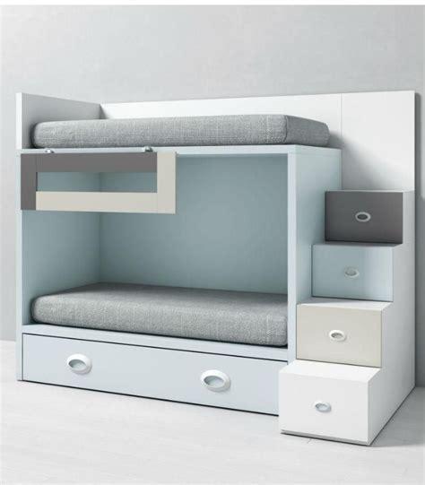 litera dado infantil  escalera  cama nido tegar mobel