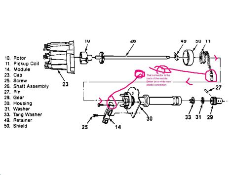 chevy 350 engine ignition wiring diagram get free image