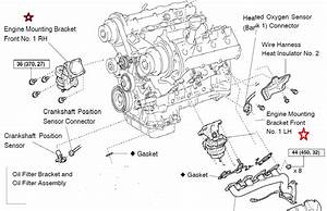 2002 Lexus Es300 Engine Mounts Diagram