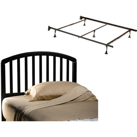 carolina full queen headboard and bed frame black