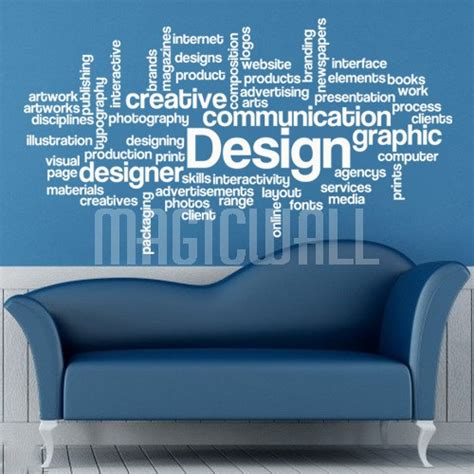 wall decals design words wall stickers