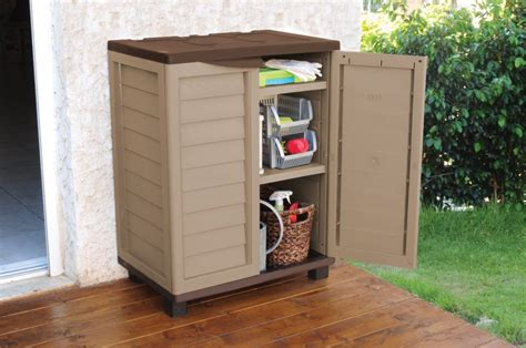 outdoor storage cabinet ideas weatherproof outside storage cabis for your garden shoe