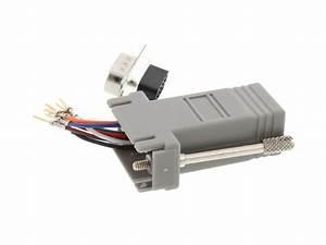 Modular Adapter Kit - Db9 Male To Rj45
