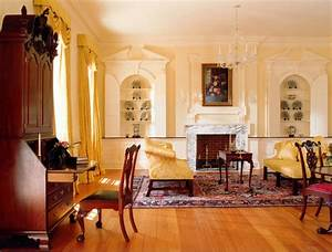 A, Georgian, Colonial, Home, Interior, Design, Ideas