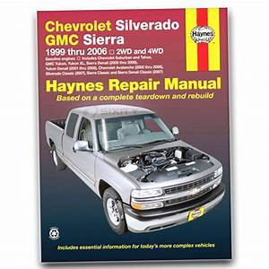 Chevy Silverado 1500 Hd Haynes Repair Manual Lt Base Ls