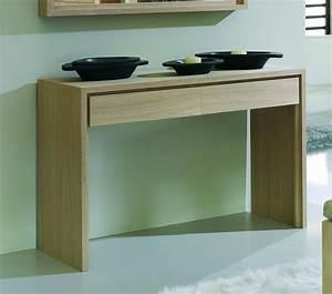 Console Avec Tiroir Meuble Entree : meuble console d 39 entr e brin d 39 ouest ~ Preciouscoupons.com Idées de Décoration