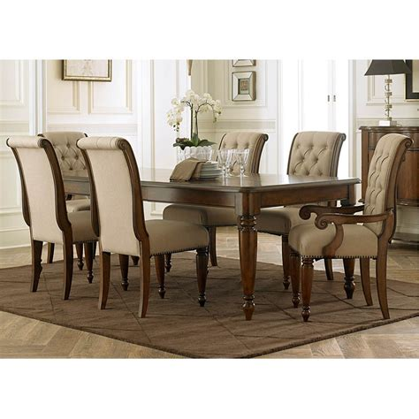 7 dining set with bench cotswold 7 dining set table with 4 side chairs and