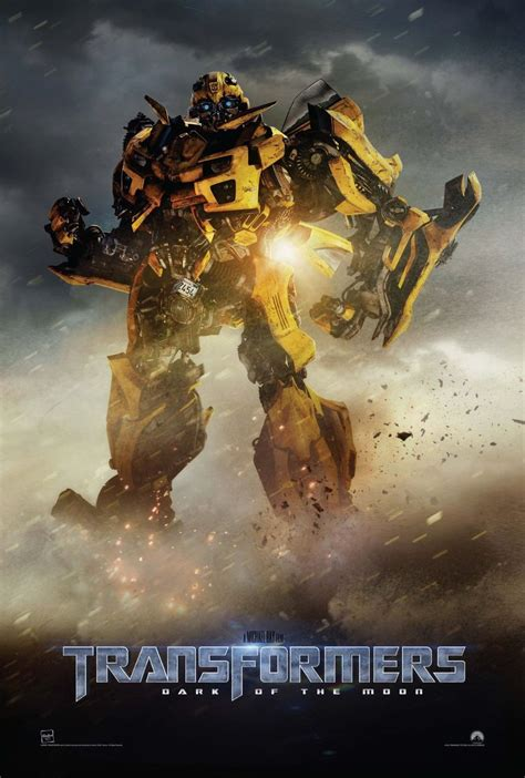 Transformers Dark Of The Moon Poster Featuring Bumblebee