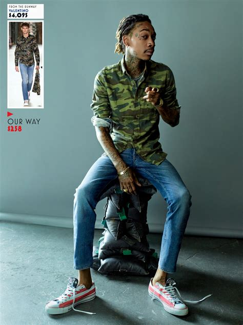 Dress Up, Spend Down with Wiz Khalifa Photos