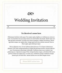 Wedding invitation email sample sunshinebizsolutionscom for Sample of wedding invitation 2017
