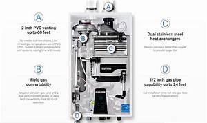 Navien Tankless Water Heater Parts Diagram
