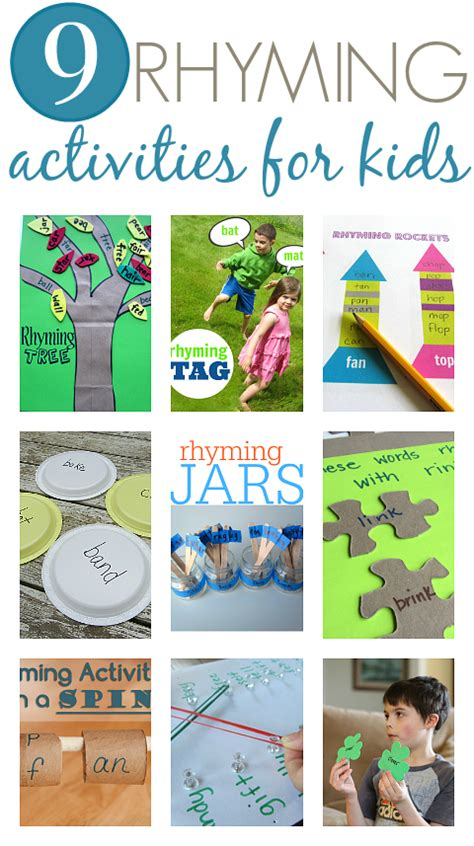 rhyming board free printable no time for flash cards 692 | rhyming activities for kids early literacy ideas