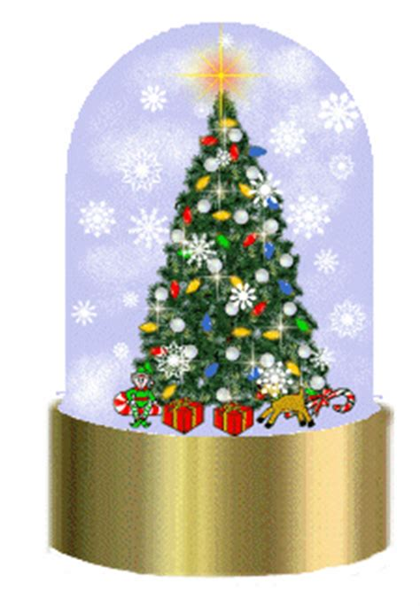 christmas snow globes clipart graphics  images
