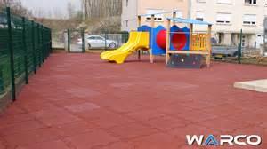 outdoor playground flooring material