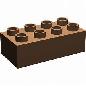 LEGO Brown Duplo Brick 2 x 4 (3011)   Brick Owl - LEGO ...