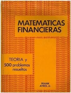 Ayres Frank Matematica Financiera Pdf