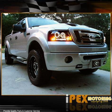 2004 ford f150 lights 2004 2008 ford f150 f 150 06 08 lt halo projector