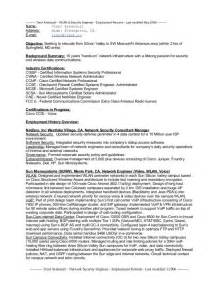 cyber security engineer resume network security engineer