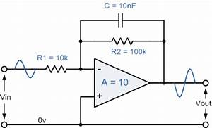 active low pass filter With active filter types