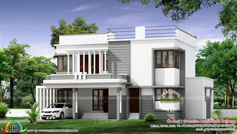 post modern house plans modern house architecture kerala home design and