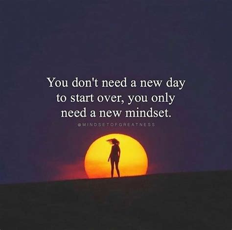 Inspirational Positive Quotes You Dont Need A New Day To Start Over  Quotesviralnet Your