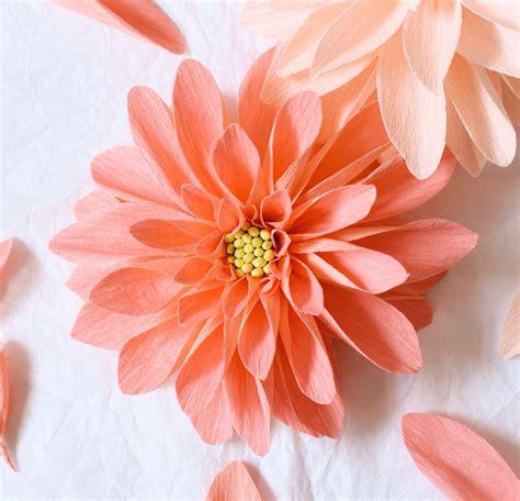 paper dahlia by a petal unfolds ms crafts paper