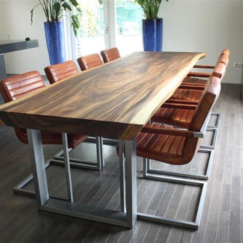 table manger style scandinave en bois brut massif steppe plateau de boi table a manger en bois