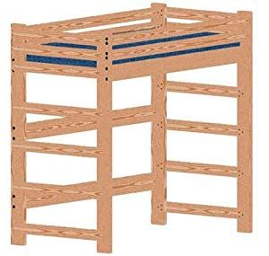 loft bed woodworking plan   bed  bunk bed