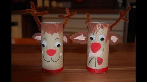 recycling basteln mit kindern ideen fuer weihnachten