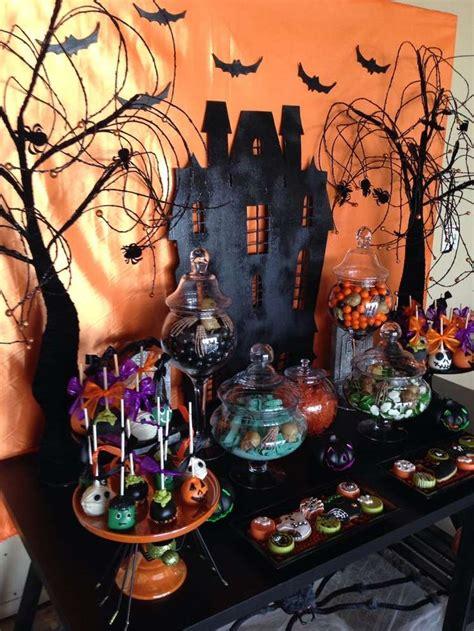 halloween table decorations ideas  pinterest