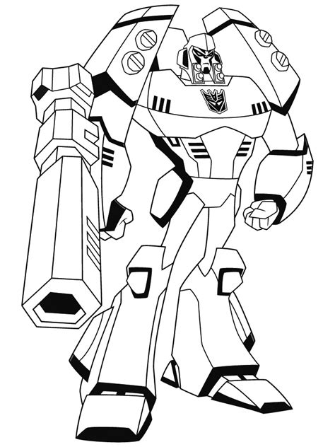 coloriage de transformer dessins  colorier imagixs