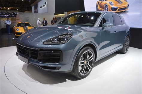2018 Porsche Cayenne Turbo Showcased At The 2017 Dubai