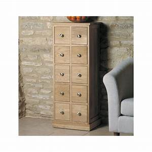 Mobel Solid Oak Furniture Music Film CD DVD Storage Chest
