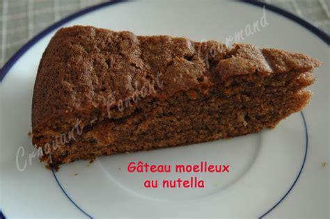 paillasse cuisine gâteau au nutella croquant fondant gourmand