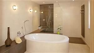 Badezimmer Modern Beige Grau Midir Innen Badezimmer
