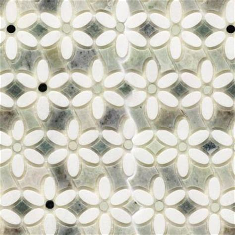 ming green marble tile splashback tile steppe mutisia white thassos and ming
