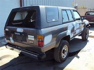 1988 Toyota 4runner 2 Door Sr5 Model 3 0l V6 Mt 4x4 Color
