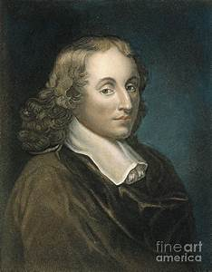 Blaise Pascal (1623-1662) Photograph by Granger