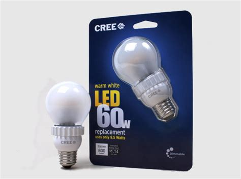 cree introduces a new led light bulb that is both