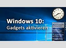 Windows 10 Gadgets Widgets aktivieren – So bekommt ihr