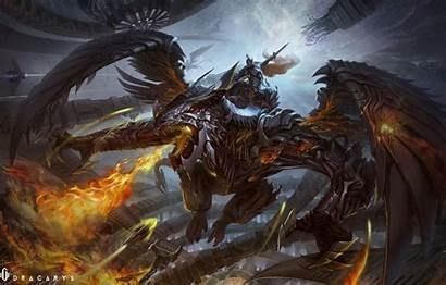 Wings Fire Dragon Armor Wallpapers Fantasy Nightwing