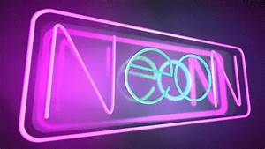 Cinema 4D Video Tutorial Neon Sign The Beat A Blog by