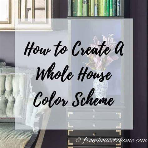 create   house color scheme    love
